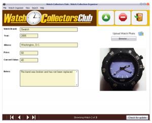 watchcollectorsoftwarescree