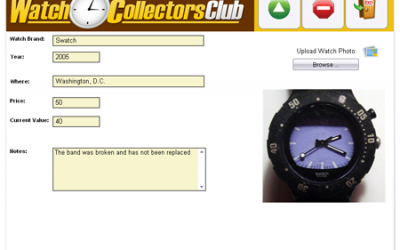 Free Watch Collection Software