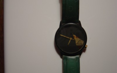 Green Guess Watch