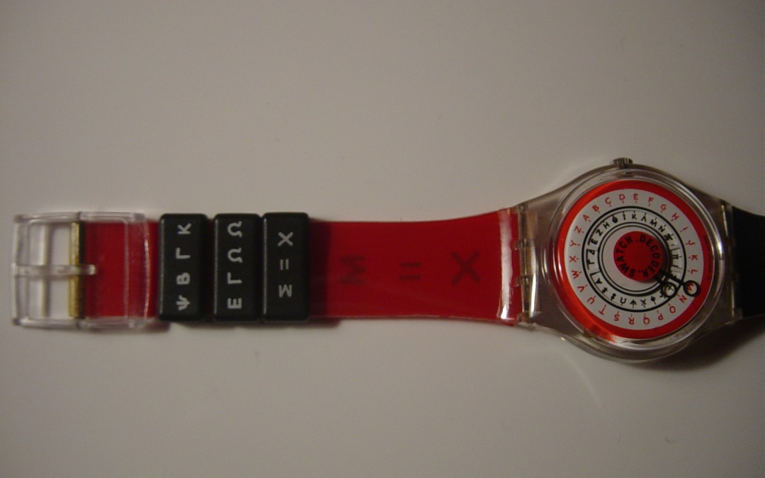Swatch Decoder Watch