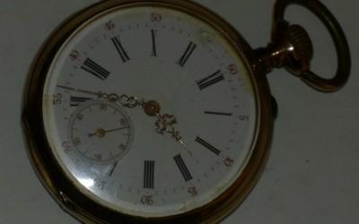 1930s Gold Pocket Watch