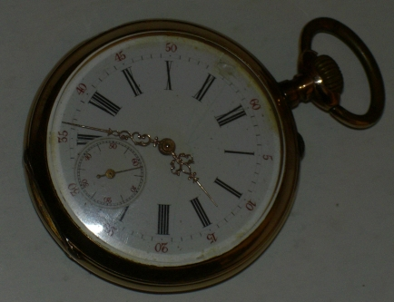 1930s Gold Pocket Watch