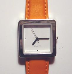 Orange Quartz Watch